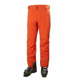 Pantalón de Esquí Lifaloft naranja /Helly Tech/