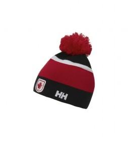 Gorro Ski Team rojo, negro