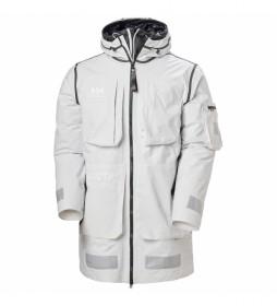 Chaqueta HH Arc Survival 3 In 1 Coat blanco, negro