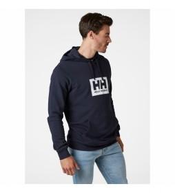Sudadera HH Box Hoodie marino
