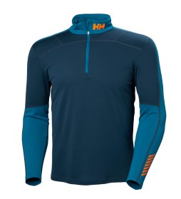 Helly Hansen Camiseta HH Lifa Active 1/2 Zip azul