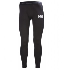 Helly Hansen Pantalones Térmicos Life Active negro / Lifa® Flow negro
