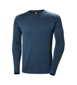 Helly Hansen Camiseta térmica HH Lifa Merino Classic Crew azul
