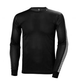 Helly Hansen T-shirt HH Lifa Stripe Crew black