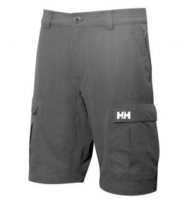 Helly Hansen Shorts Bermuda HH QD Carga 11 cinza -Quick Dry-