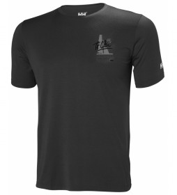 Helly Hansen Camiseta HP Racing gris
