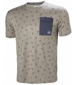 Helly Hansen Camiseta Lomma piedra