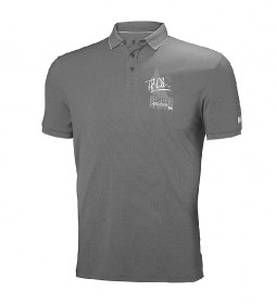 Helly Hansen Polo HP Racing gris / FPS 30+