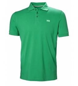 Helly Hansen Transat green polo shirt