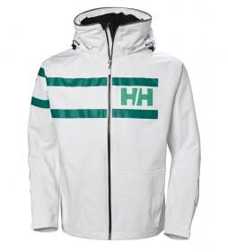 Chaqueta Salt Power blanco -Helly Tech® Protection-