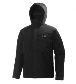 Helly Hansen Chaqueta Squamish CIS negro /Helly Tech®/Primaloft®/DWR/