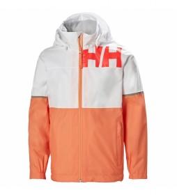 Chaqueta Junior Pursuit blanco, naranja /Helly Tech/
