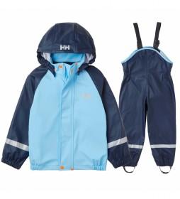 Conjunto Chubasquero K Bergen PU azul