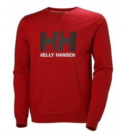 Helly Hansen Sweatshirt HH Logo Crew rouge
