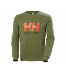 Sudadera HH Logo Crew Sweat verde