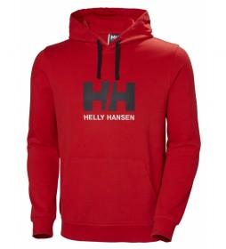 Helly Hansen Sweatshirt HH Logo red
