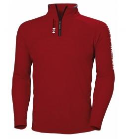Helly Hansen Fleece sweatshirt HP 1/2 ZIP red