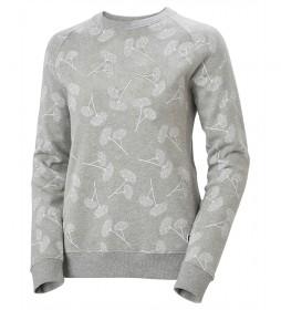 Sudadera W F2F Cotton Sweater gris