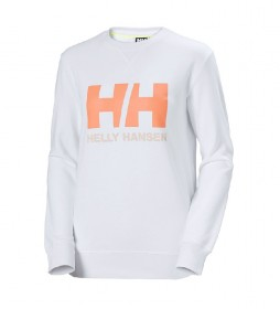Sudadera W HH Logo Crew Sweat blanco