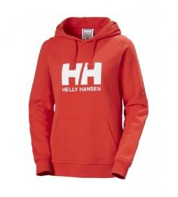 Sudadera W HH Logo rojo