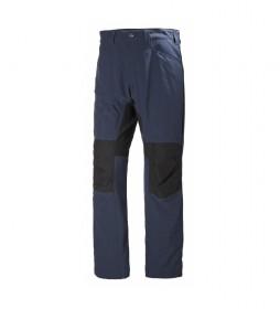 Pantalón deportivo Vanir Hibrid azul oscuro