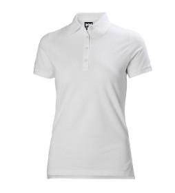 Helly Hansen W Crew Pique 2 t-shirt branca