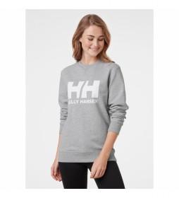 Sudadera W HH Logo Crew gris