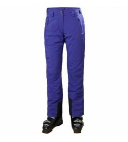 Pantalón Insulado W Legendary morado / Helly Tech® / Primaloft® / AquaGuard® /