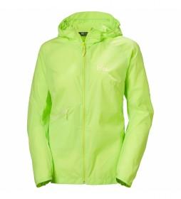 Chaqueta W Rapide Windbreaker verde