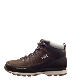 Helly Hansen W The Forester brown leather boots