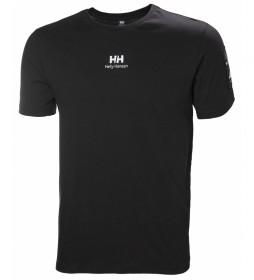 Helly Hansen Camiseta Yu Twin Logo negro