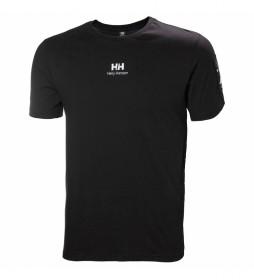Camiseta YU Patch negro