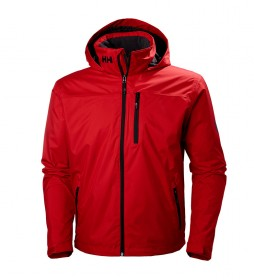 Helly Hansen Crew Hooded Midlayer Jacket red - Kelly Tech® Protection