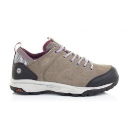Hi-tec  Tortola Trail taupe trekking shoes / 345g / Dri-Tec