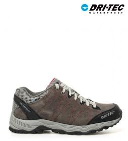 Hi-tec  Zapatillas de serraje trekking Libero II WP gris -Dri-Tec / MDT-