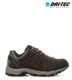 Hi-tec  Zapatillas de serraje trekking Libero WP marrón -Dri-Tec / MDT-