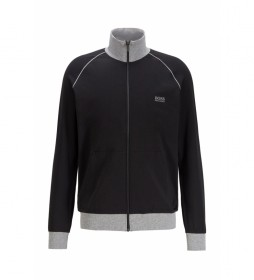 Chaqueta Loungewear Regular Fit Mix&Match; Z negro