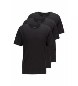 Pack de 3 Camisetas 50325385 negro