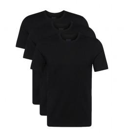 Pack de 3 Camisetas manga corta RN 3P CO 10145963 01 negro