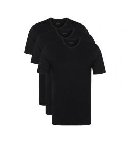 Pack de 3 Camisetas VN CO 10145963 01 negro