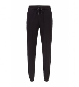 Pantalón Homewear de Algodón Mix&Match; negro