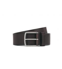 Cinturón de piel Sjeeko_Sz40 - 50424683 marrón