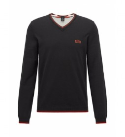Jersey regular fit negro