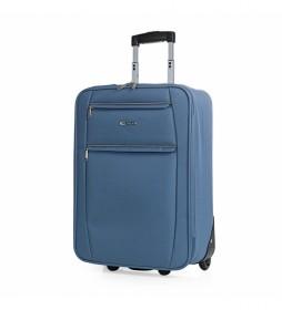 Maleta Cabina de Viaje 2 Ruedas T71950 azul vaquero -55x39x18cm-