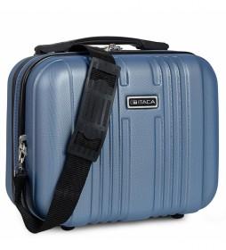 Neceser T71535 azul  -33x26x14 cm-