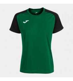 Camiseta Manga Corta Academy IV verde, negro