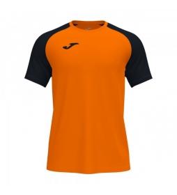 Camiseta Manga Corta  Academy IV naranja, negro
