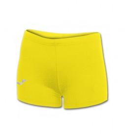 Shorts Calentador Bermuda Lycra amarillo