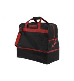 Bolsa de Deporte Grande Training III negro, rojo -48x49x29cm-