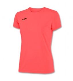 Camiseta Combi coral flúor